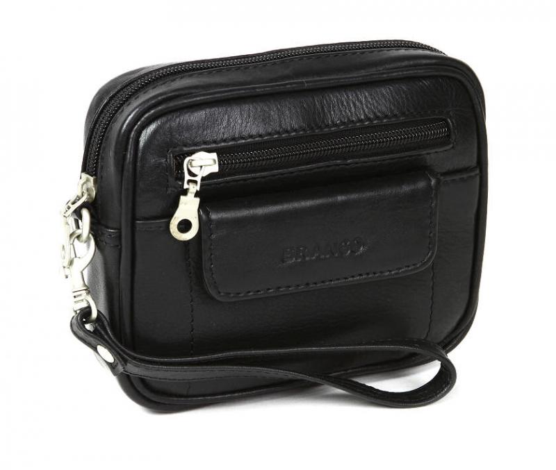 Kožená taška na opasok BRANCO čierna 401 7df58fd22cf