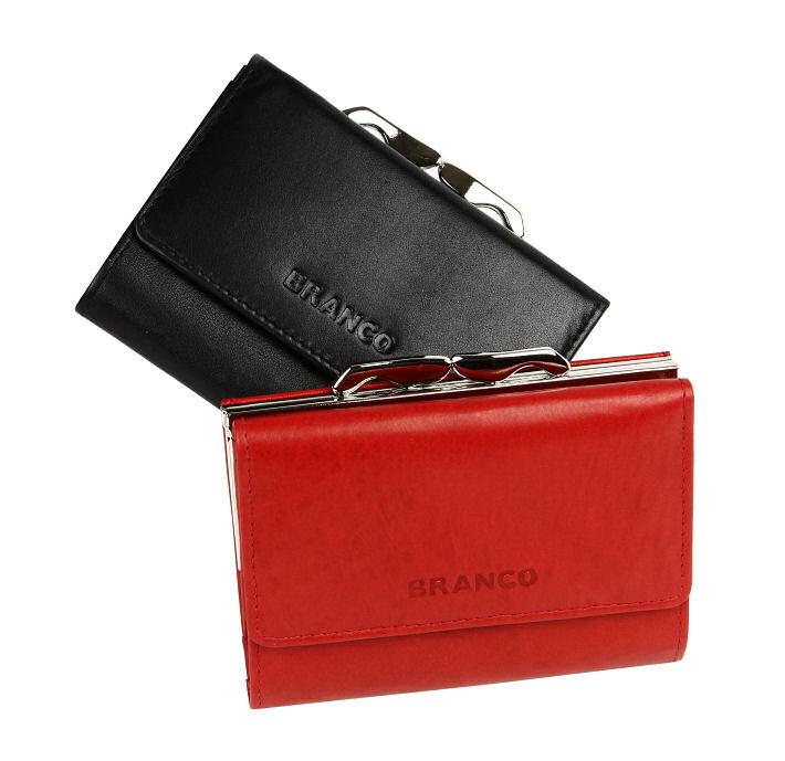 d737e30fa8 Dámska kožená peňaženka BRANCO červená