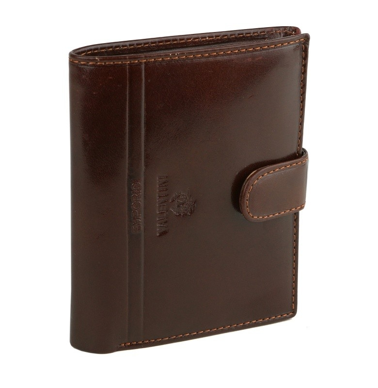 Pánska kožená peňaženka EMPORIO VALENTINI 563-PL01 BR - KozeneDoplnky.sk 7bfc19bfed0