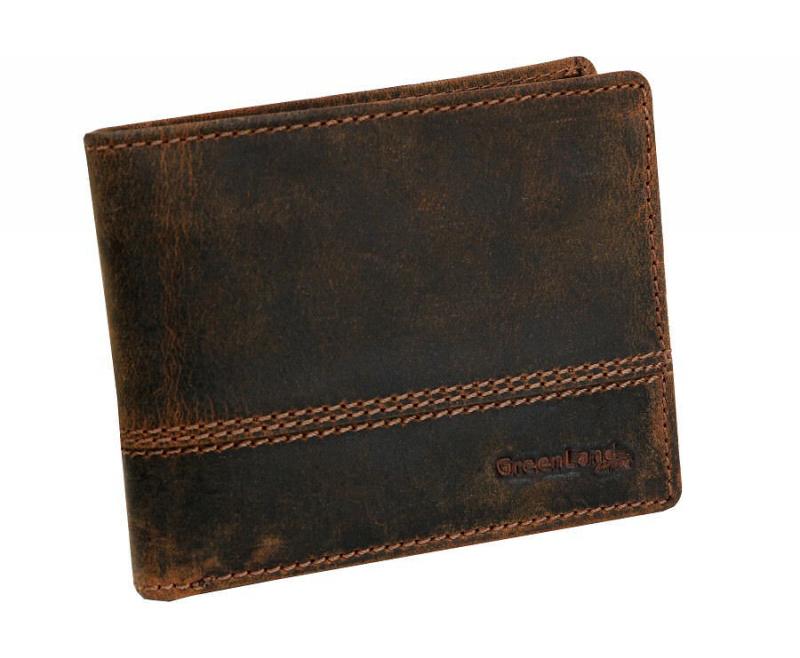 919e989f7c Pánska peňaženka z brúsenej kože GreenLand NATURE