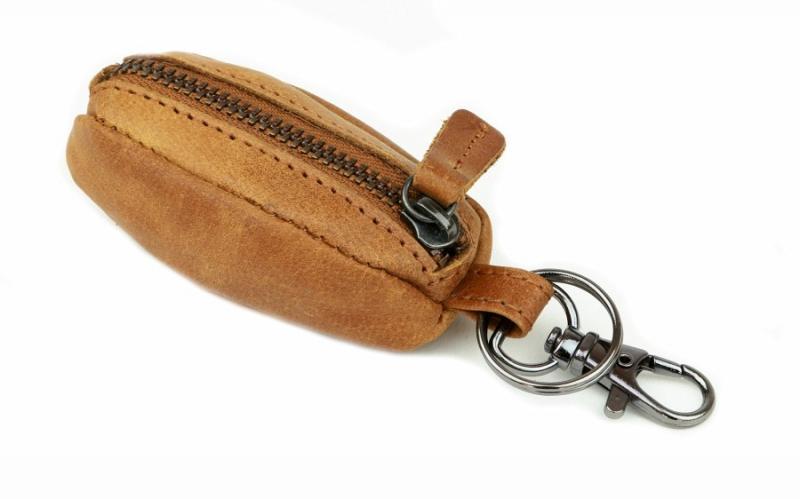 Kožené puzdro na kľúče- kľúčenka NATURE 1345 864b3ca86a1