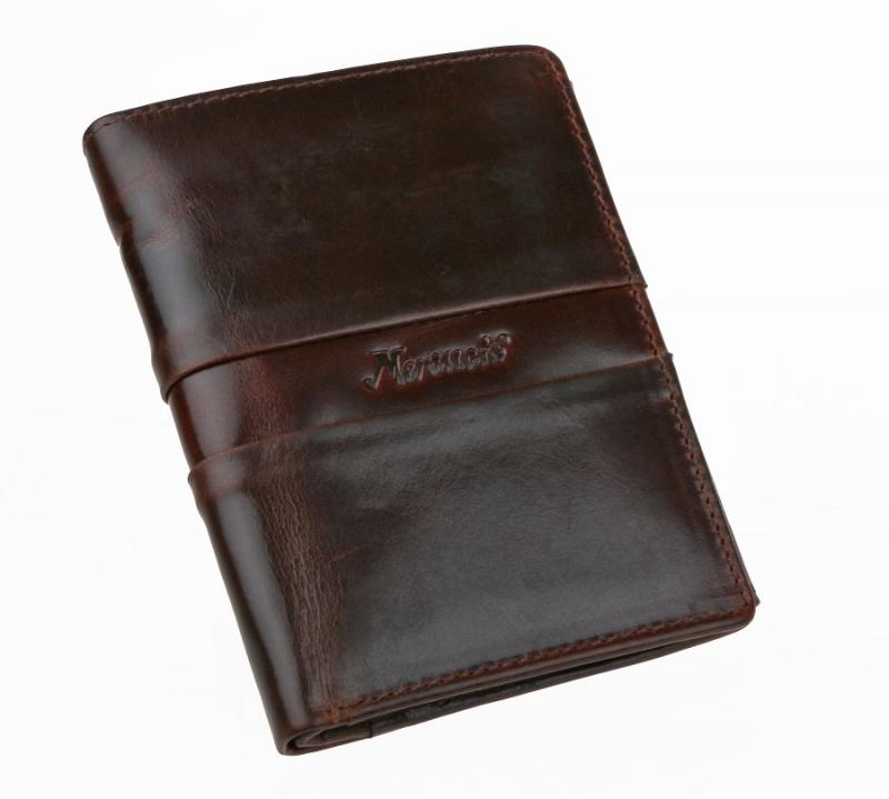 b883f29171 Hnedá pánska kožená peňaženka MERCUCIO