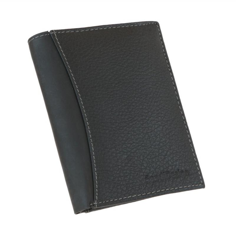 b9d418c40c Kožená pánska peňaženka SENDI 5502 čierna - KozeneDoplnky.sk