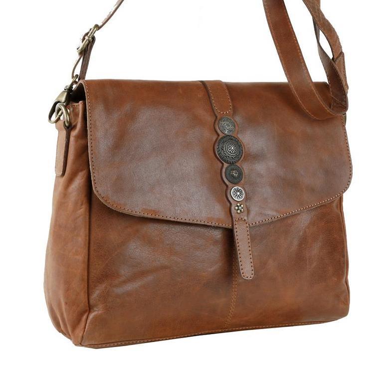 Dámska hnedá kabelka BRANCO 52002 - KozeneDoplnky.sk 770512186fd