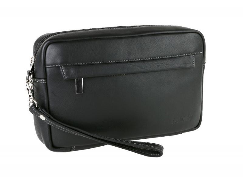 0da9d28b58 Etue pánska taška kožená SENDI čierna