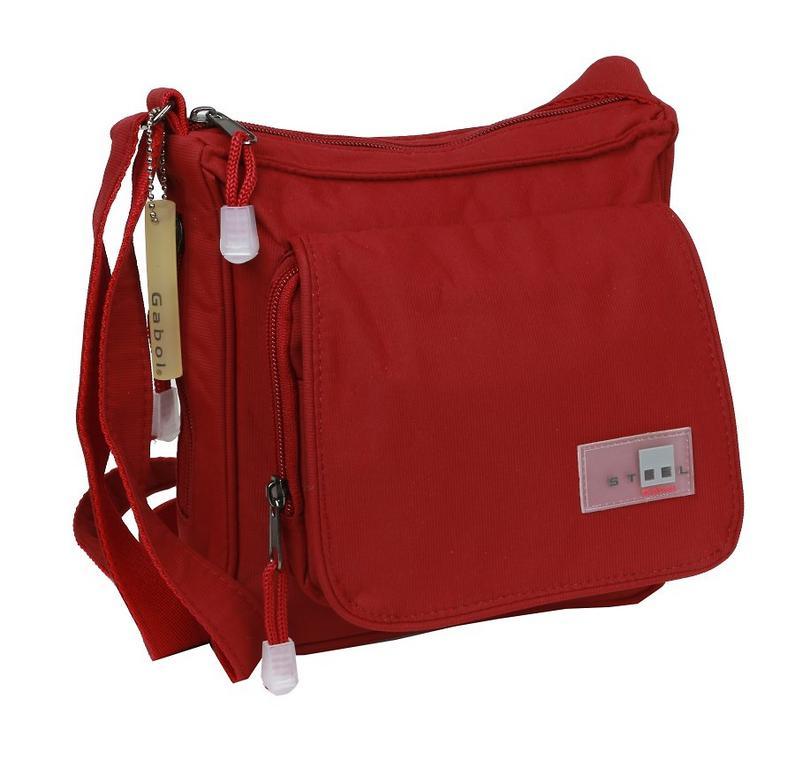 Taška na rameno dámska s poklopom NEW STEEL 21x21 cm textilná a1aae1e929e