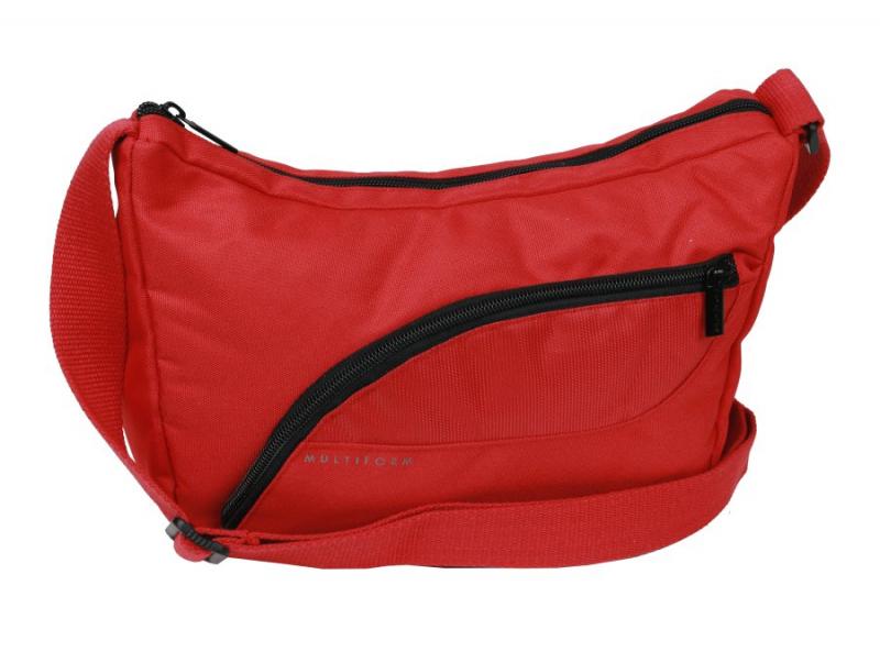 Textilná príručná taška na rameno MULTIFORM 28x18 cm červená f7687d86ca1