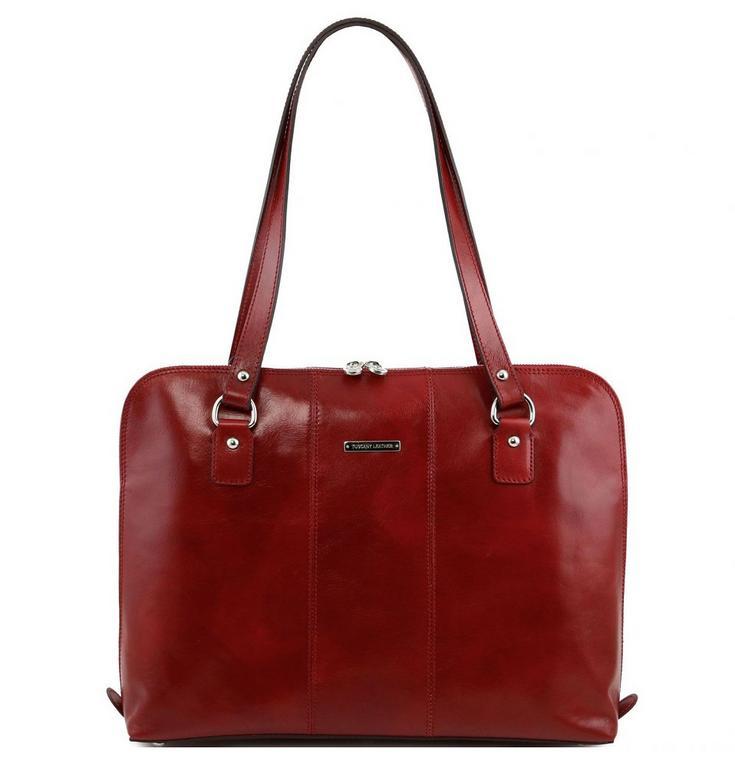 Luxusná dámska kabelka bordó RAVENNA TUSCANY 141277 95d07ea0c97