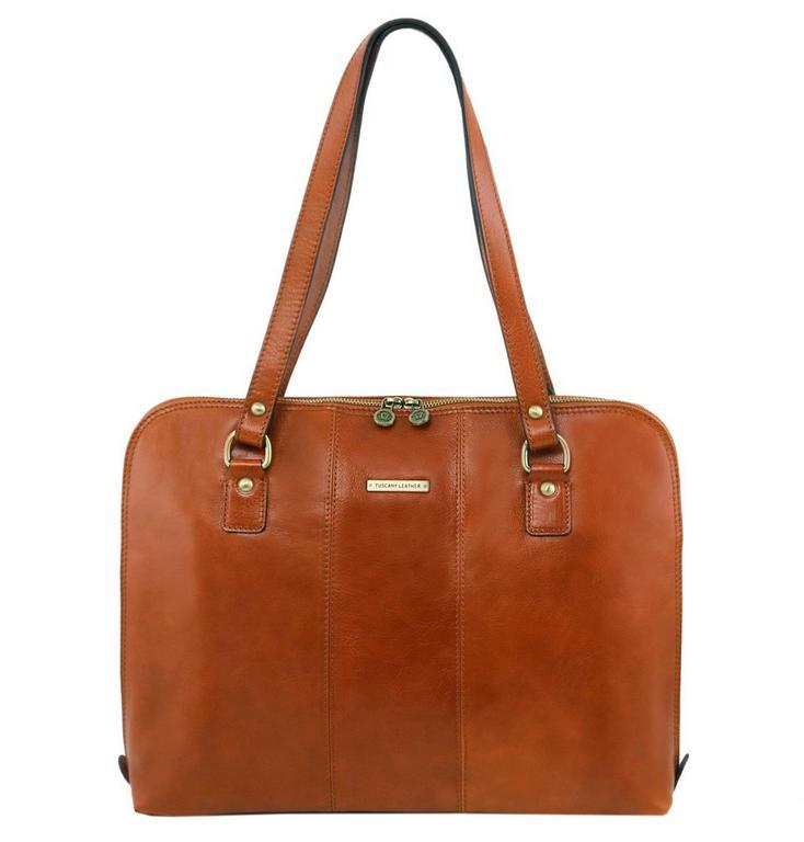 007697b571 Luxusná dámska kabelka medová RAVENNA TUSCANY 141277