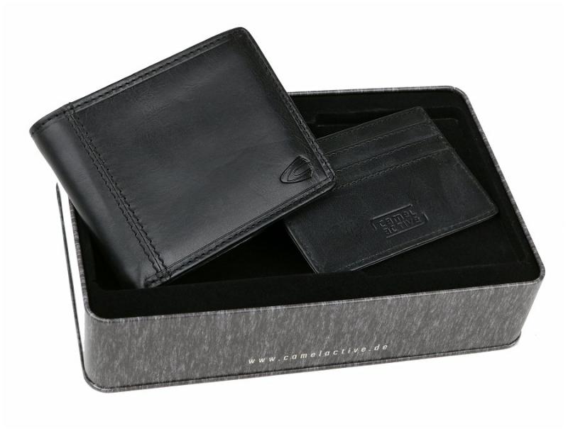 Elegantný set pánskej peňaženky a puzdra na doklady CAMEL ACTIVE 7e6c09ec140