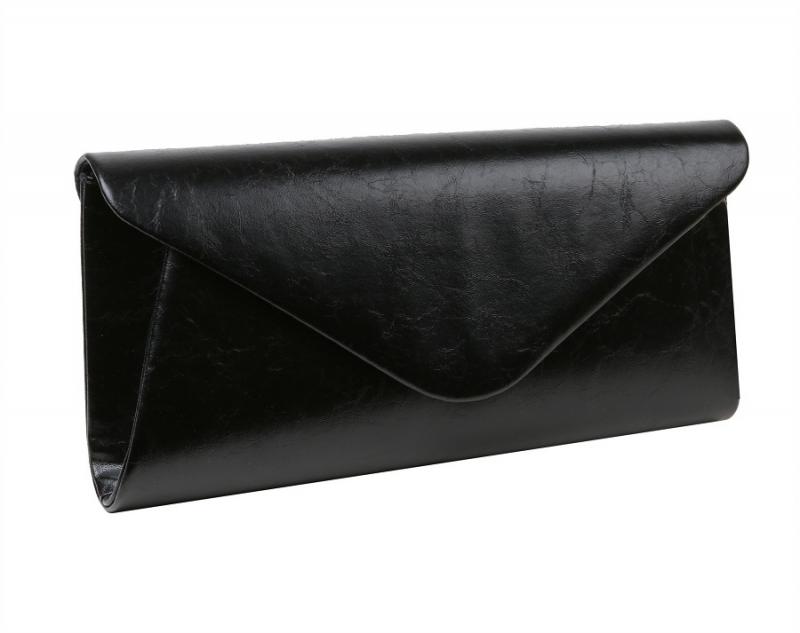 ad4db8e545 Večerná spoločenská kabelka MERCUCIO čierna listová