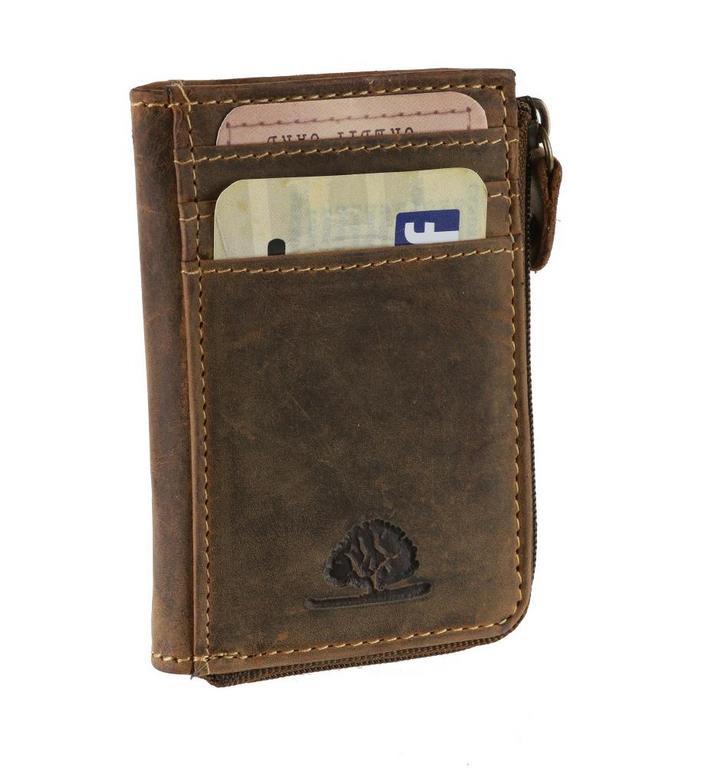 301587c68c Dokladovka s mincovníkom z brúsenej kože GREENBURRY