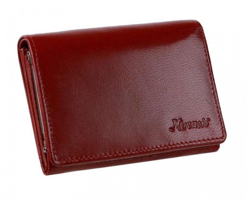 410ae6bb92 Kožená peňaženka dámska MERCUCIO červená - KozeneDoplnky.sk