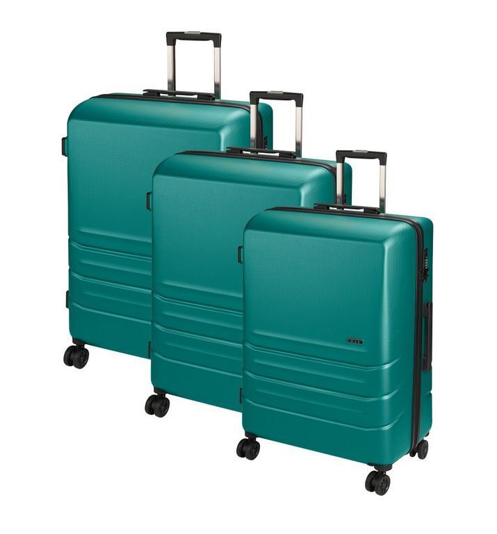 79c8d2694d0f3 Set 3 ks cestovných kufrov petrolejová D&N