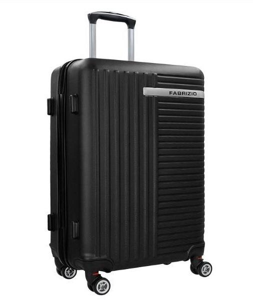 70b9152ace56f Veľký cestovný kufor s TSA zámkom FABRIZIO čierny