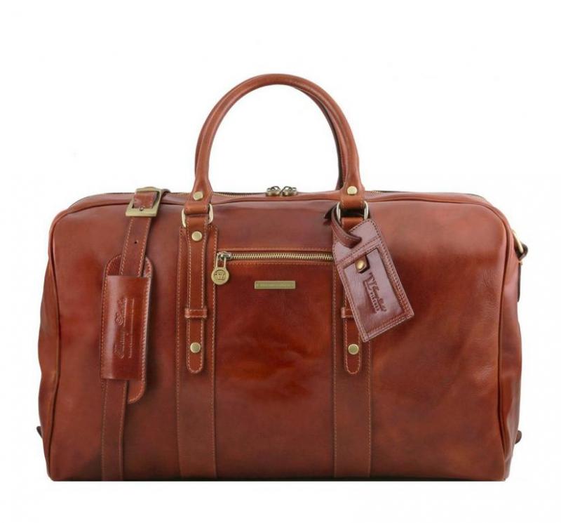 cdc84fc307 Luxusná cestovná taška hnedá TUSCANY VOYAGER