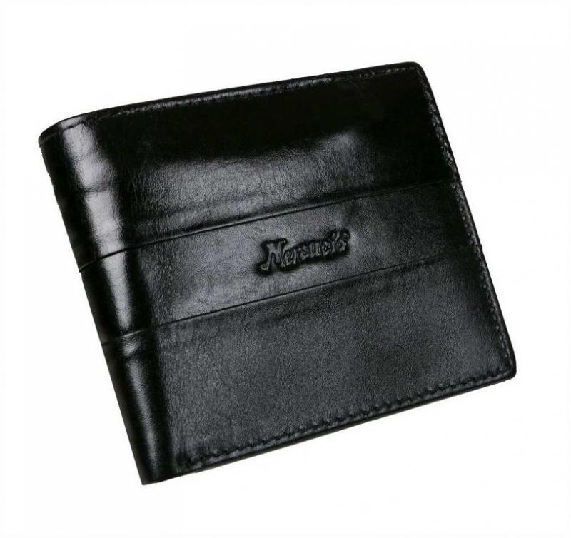 9057ab79f8 Kožená pánska peňaženka na šírku MERCUCIO RFID čierna