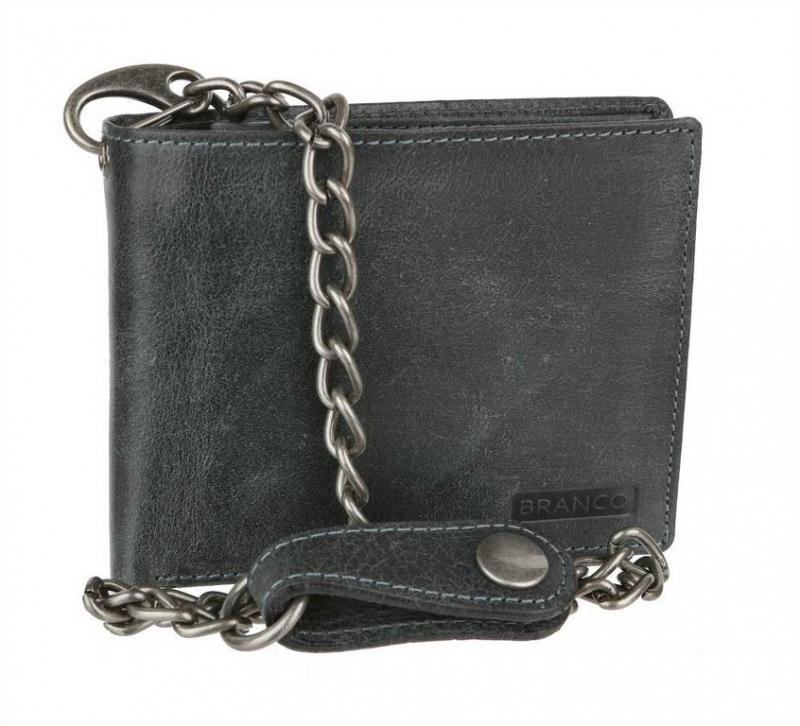 194a7f0cbb Štýlová pánska peňaženka BRANCO s retiazkou