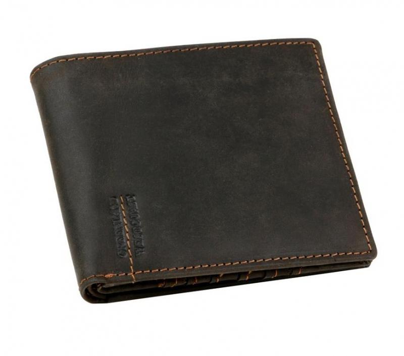 25bfac14dd GreenLand WestCoast - kvalitné peňaženky z tmavej kože