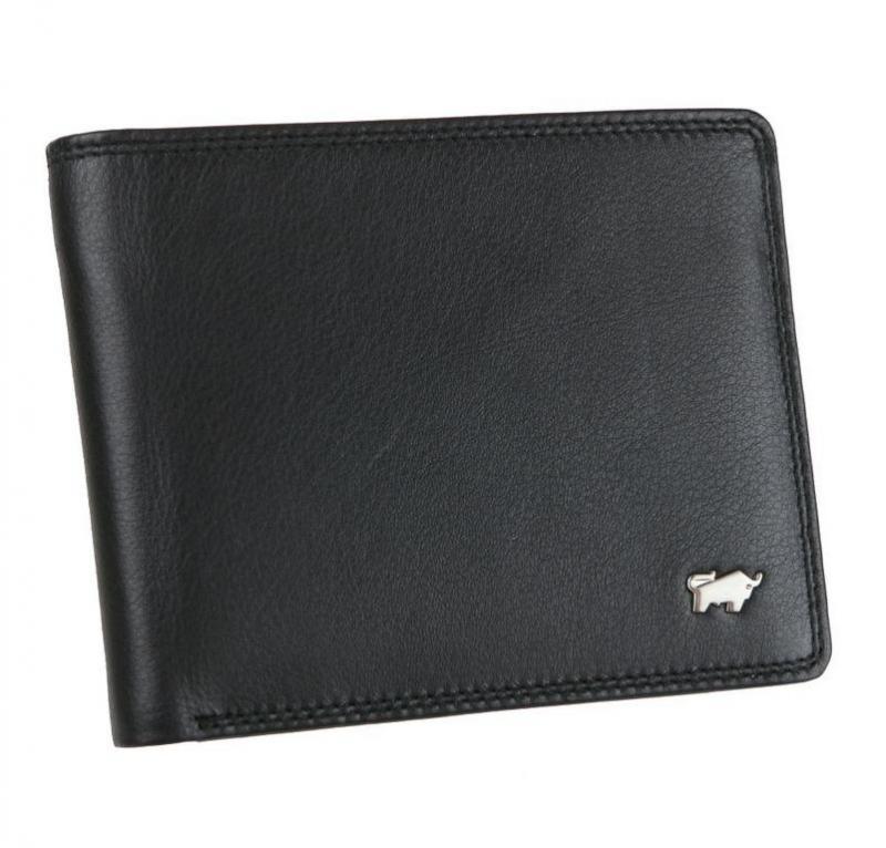 cbadf2076e Pánska kožená peňaženka BRAUN BUFFEL 92327 čierna