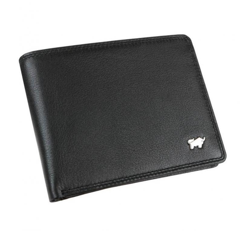 5d42faca5 Pánska peňaženka 11 kariet BRAUN BUFFEL koža čierna - KozeneDoplnky.sk