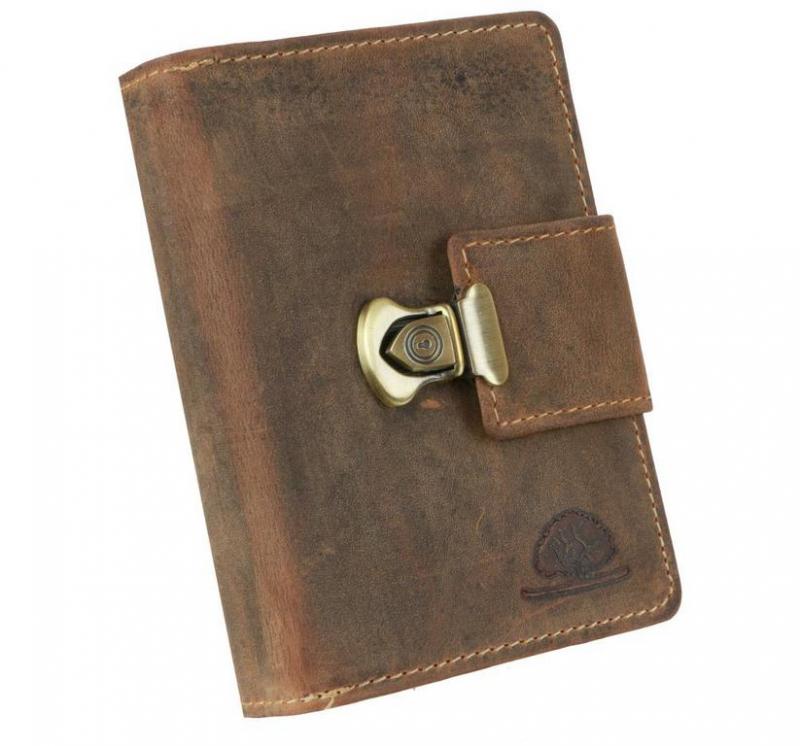 351c786f41 Peňaženka 3-dielna GreenBurry Vintage koža