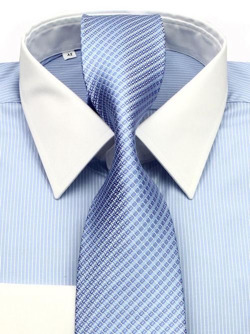 fc51b8593d84 Luxusná košeľa SLIM FIT na manžetové gombíky 200-12 - KozeneDoplnky.sk