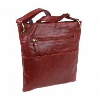 Exkluzívna dámska kabelka MELISSA TUSCANY bordová b80a095e925