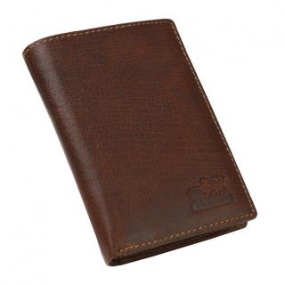 Kožená peňaženka s retiazkou BRANCO 34408 hnedá tmavá be00d6d11bb