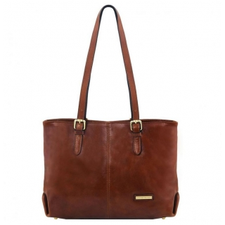 Dámska kabelka- shopping bag  TUSCANY LEATHER ANNALISA