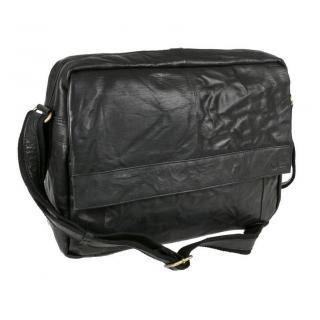 Unisex taška na notebook s popruhom SENDI čierna 89b32f024aa