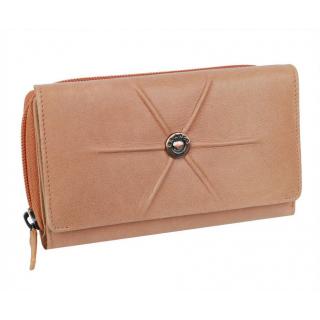8c4a7236f0 Oranžová dámska peňaženka BARCELONA 13 kariet