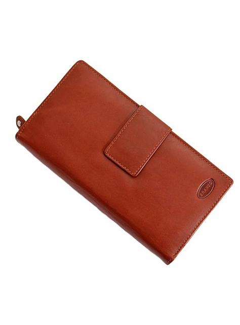 Dámska mega-peňaženka BRANCO pre 20 kreditných kariet hnedá 93b8e4cb5d2