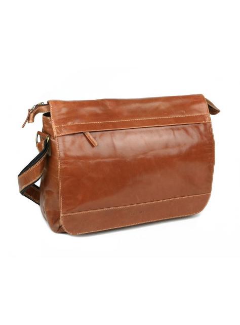 6289cc7682 Elegantná kožená biznis taška na notebook 15