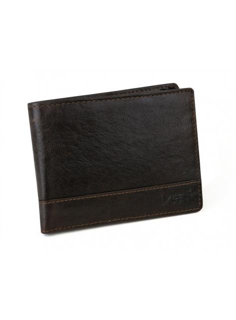 5020d28c55 Kožená peňaženka LAGEN 64665 hnedá tmavá
