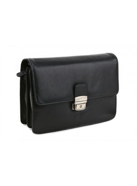 Etue taška na doklady BRANCO čierna kožená BR200 d0b04b513a1