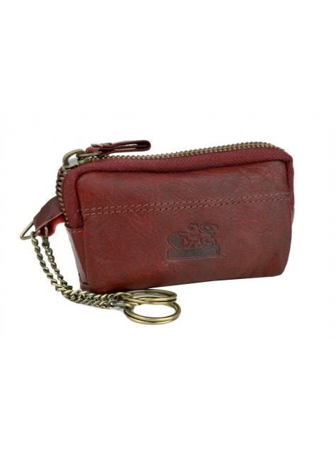 Kožená kľúčenka- puzdro na kľúče CABRITO BRANCO bordó 72079a72ecd