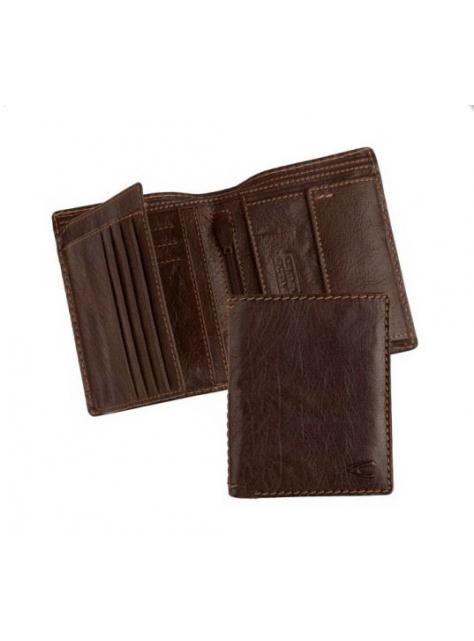 b3947f050f Elegantná pánska hnedá peňaženka CAMEL ACTIVE COLUMBIA 214.703
