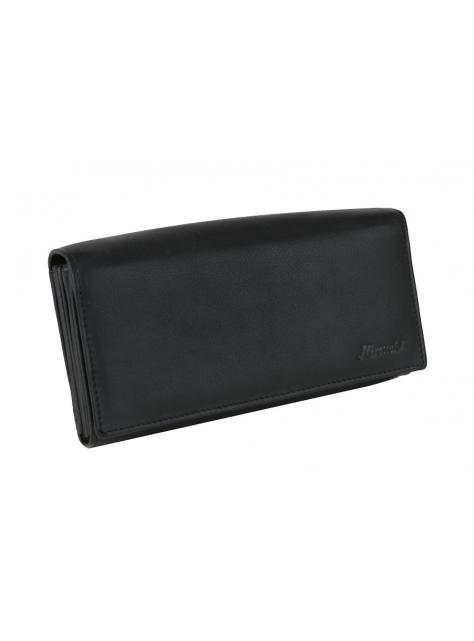 d23a75bf2b Čašnícka kožená peňaženka čierna MERCUCIO 2311855 - KozeneDoplnky.sk