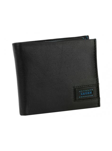 bb3214c51f3e Elegantná pánska kožená peňaženka LAGEN 1125