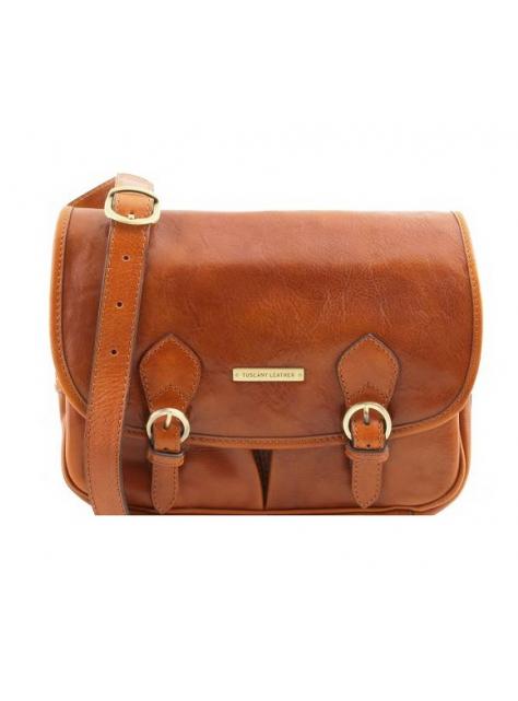 Dámska kožená kabelka GIULIA TL141481 medová  f32603964a7