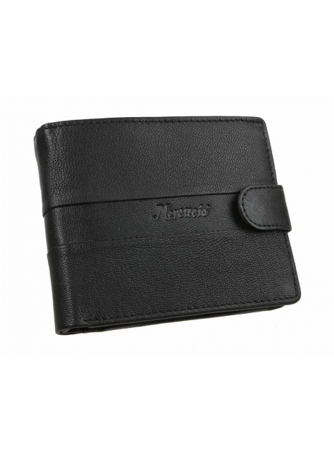 0dc21bea5d Kožená pánska peňaženka MERCUCIO 3911652 čierna