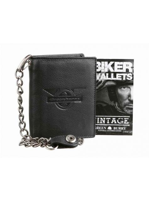 07bf188ad4 Exkluzívna kožená peňaženka Black Wings GREENBURRY