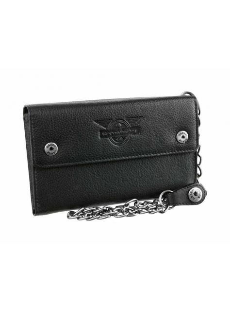 ed2fc1c813 Exkluzívna pánska peňaženka s reťazou Black Wings GREENBURRY