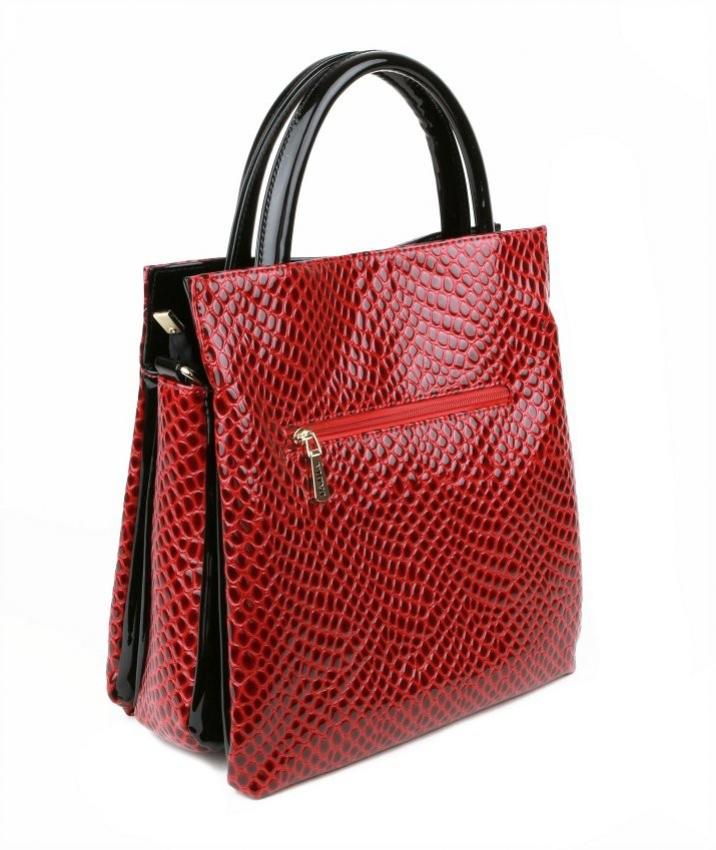 4e991cb23 Dámska štýlová kabelka MONNARI červeno-čierna 2970. KOŽENÉ DOPLNKY · DÁMSKE  KABELKY · Kabelky koženkové · -10% Akcia