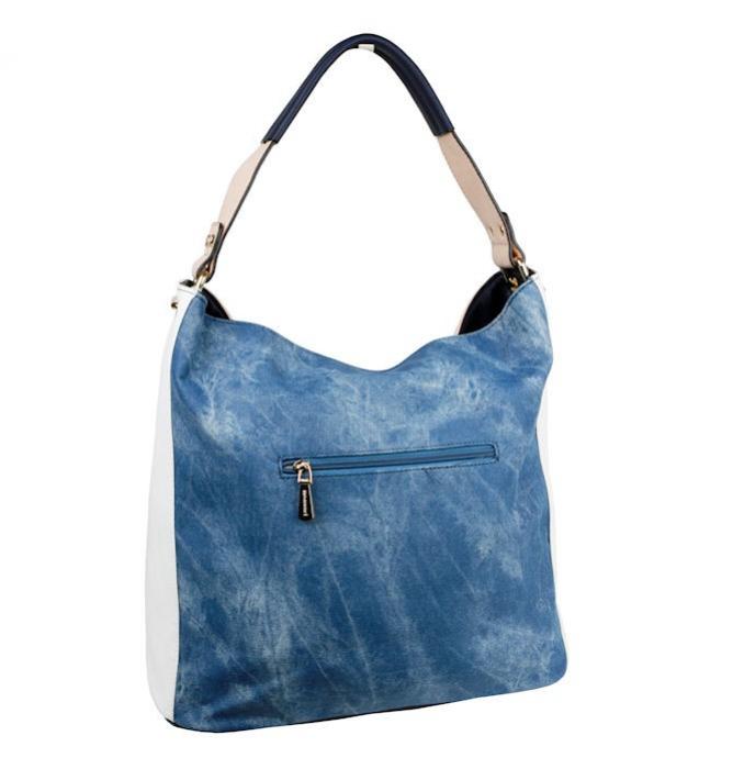 aca14a6a54 Dámska kabelka MONNARI SOFT modrá 4480