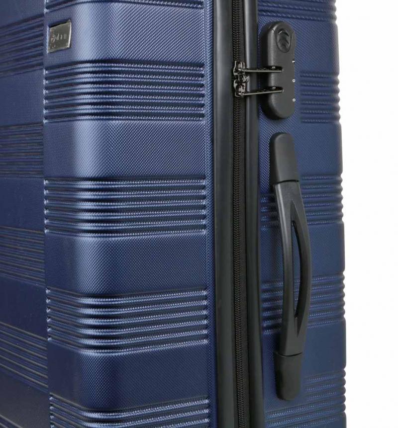 1bddd40d1d543 Veľký cestovný kufor 96 l, škrupinový, modrý | KozeneDoplnky.sk