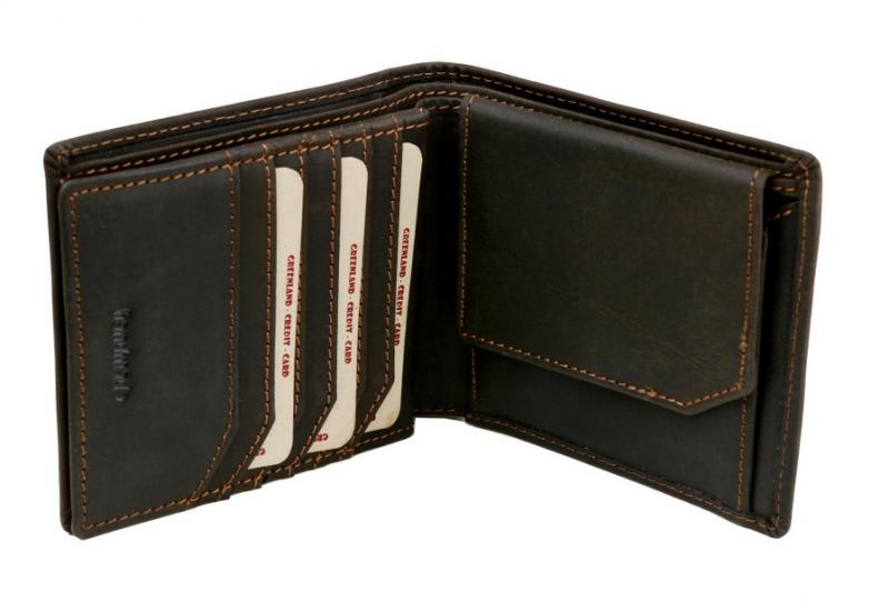 20434ce8ba Top produkt · GreenLand WestCoast - kvalitné peňaženky z tmavej kože -  KozeneDoplnky.sk