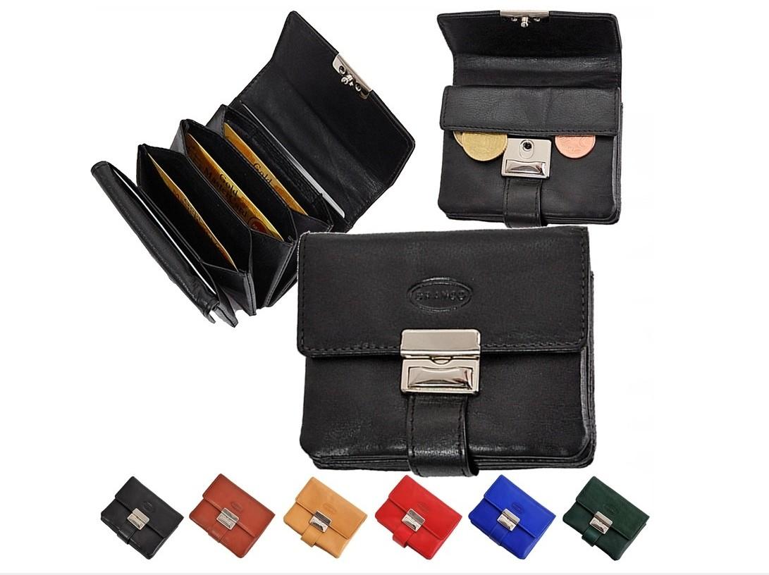 BRANCO Mini peňaženka - puzdro na kreditné karty 12034 béžová