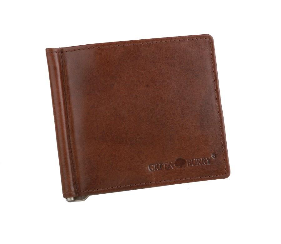 Kožená peňaženka - dolárovka GreenBurry SAFARI-4807-24